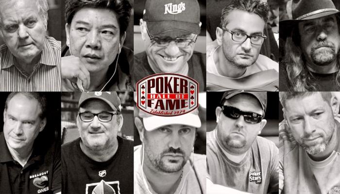 Poker Hall of Fame 2019