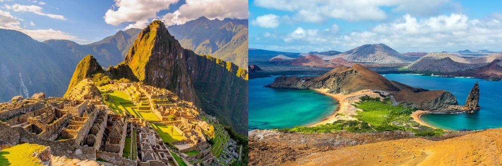 Machu Picchu and the Galapagos Islands