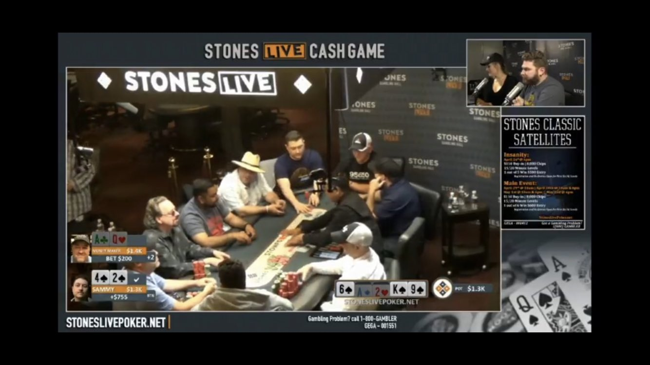 Chris Moneymaker on stream