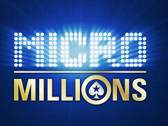 PokerStars MicroMillions starts on Sunday