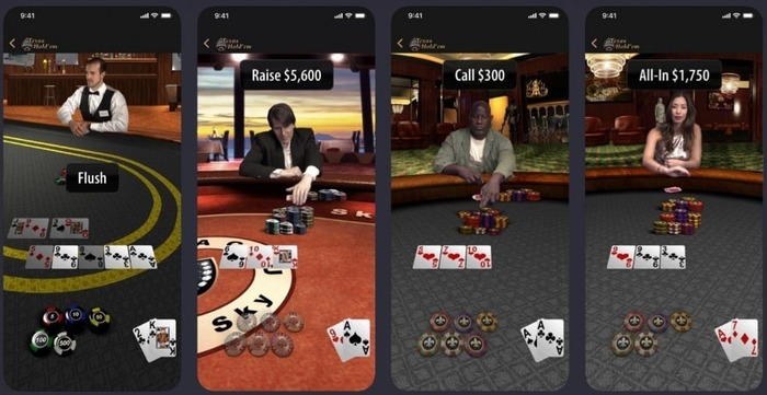 Apple Texas Hold'Em App 2019