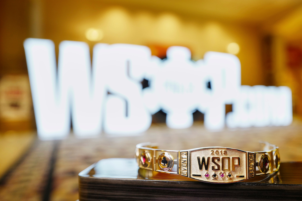 WSOP 2019 Bracelet Winners Only Event