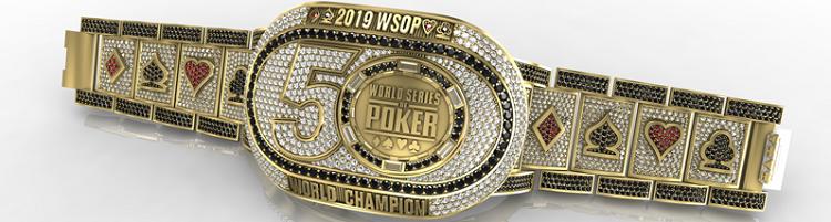WSOP bracelet 2019