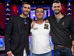 Main Event WSOP 2019: only three players remained
