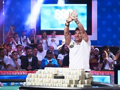The champion of Main Event WSOP 2019 was determined