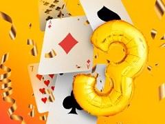 PokerMatch празднует свое трёхлетие