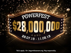 PartyPoker to hold PowerFest Series with $28 000 000 guaranteed