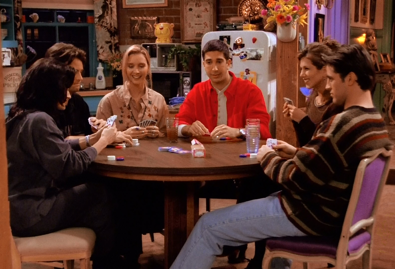 Друзья, покер