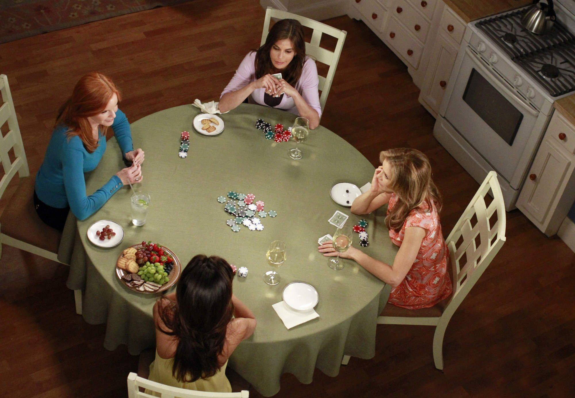 Отчаянные домохозяйки, покер