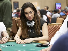 Igor Kurganov eliminated Liv Boeree from the WSOP Main Event