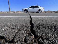 Землетрясение в Лас-Вегасе