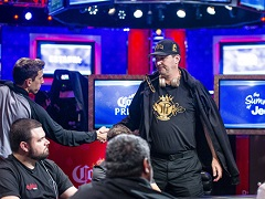 Hellmuth's bluff turned out to be a failure