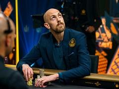 Отличный колл от Стивена Чидвика в турнире за 1 050 000£