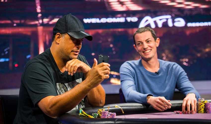 Tom Dwan and Jean-Robert Bellande