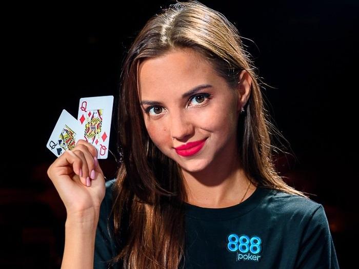 Daria Feshchenko poker