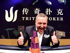 Tony G wins Live Millions Europe Triton Short Deck Event