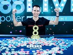 Василий Цапко – чемпион Главного События 888poker LIVE Sochi