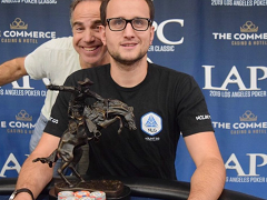 Rainer Kempe runs second in the Global Poker Index