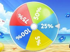Летнее колесо от 888poker: бонус за любой депозит от 30$