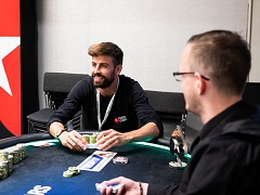 Gerard Pique took runner-up in the EPT Barcelona High Roller