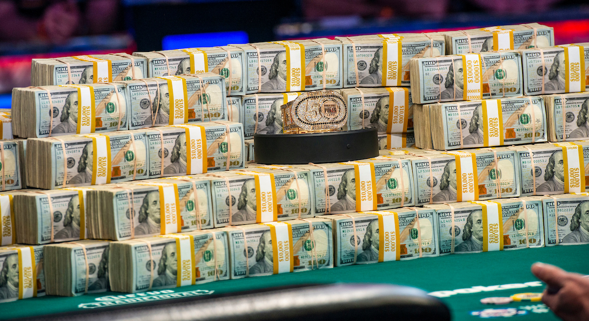 Браслет WSOP 2019