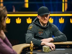 Jason Koon lost the Triton Poker trophy