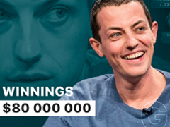 Poker genius Tom Dwan: from $50 to $80 000 000
