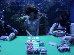 Самые странные места для игры в покер