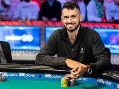 WSOP Main Event finalist presented money from his winning to newlyweds