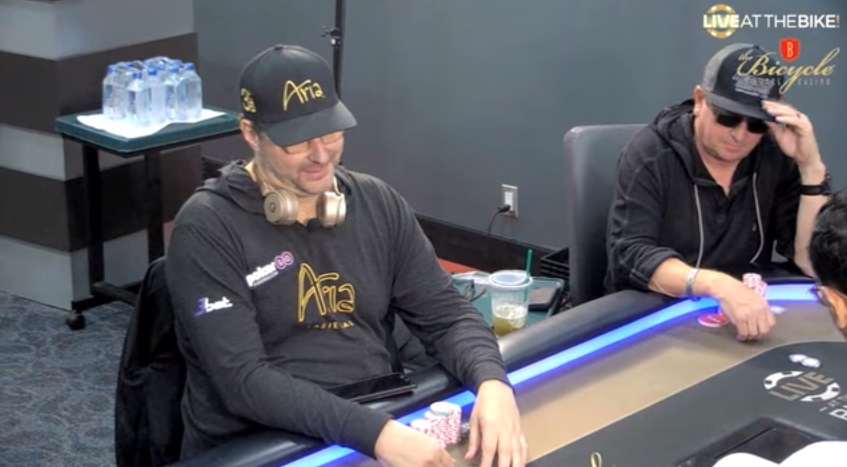 Phil Hellmuth on tilt