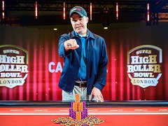 Cary Katz won Super High Roller Bowl 2019
