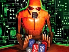 Large poker rooms' shares drop due to the bots