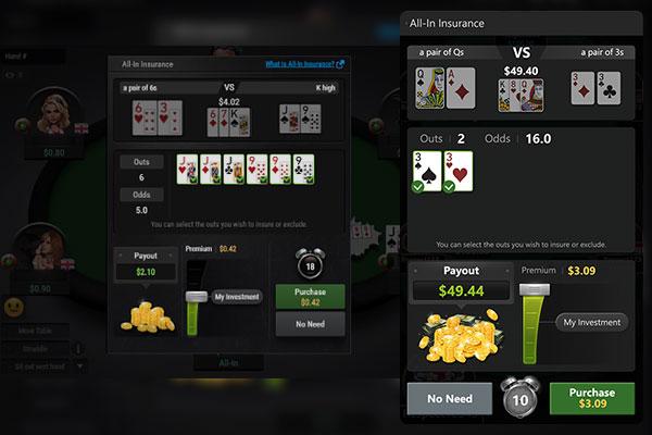 Страховка в покере