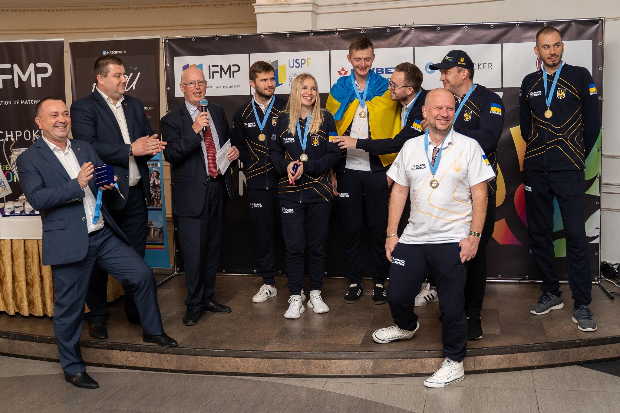 Украинская сборная по покеру 2019