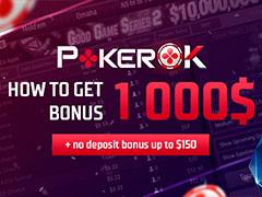 How to get $1 000 bonus at PokerOK