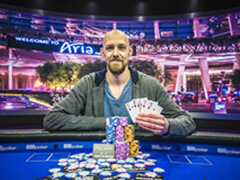 Chidwick took the 3rd place in British Poker Open PLO Tournament