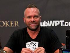 American player Aaron Van Blarcum won $474,000 at WPT Legends of Poker