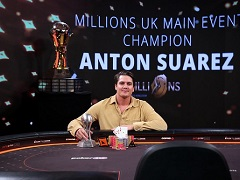 Швед Суарез выиграл 1 000 000$ в Мейн Ивенте partypoker MILLIONS UK