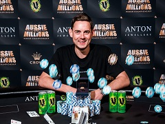 Toby Lewis shows great results at Aussie Millions for the third year in a row