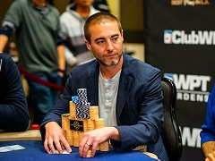 Chance Kornuth – main contender to win WPT Gardens Poker Championship