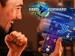 PartyPoker implemented fastforward tables in mobile software