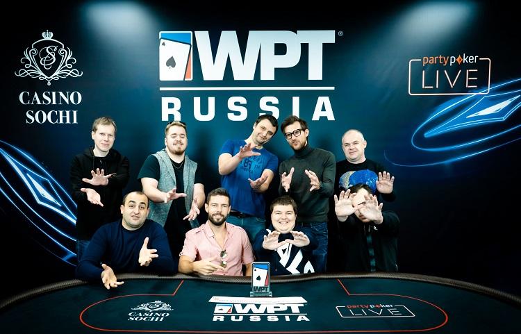 хайроллеры WPT Russia 2020