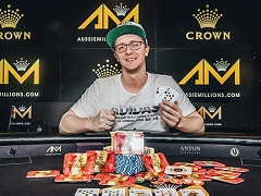 Kahle Burns takes down A$100 000 Challenge at Aussie Millions