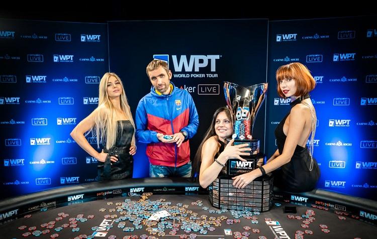 Алексей Бадулин на WPT Russia 2020