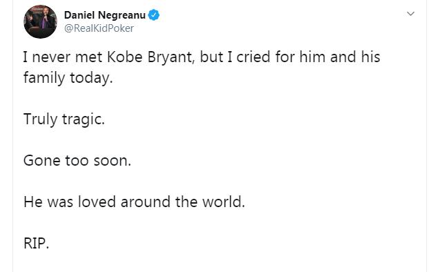 Daniel Negreanu on Twitter