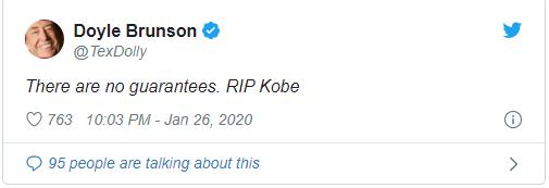 Doyle Brunson on Twitter