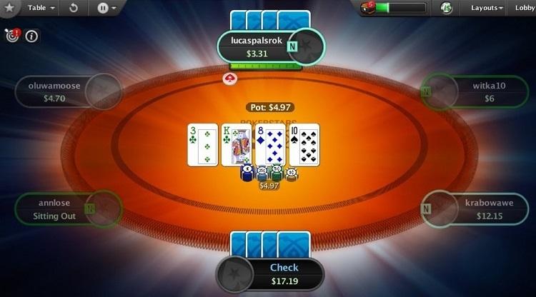 Fusion at PokerStars