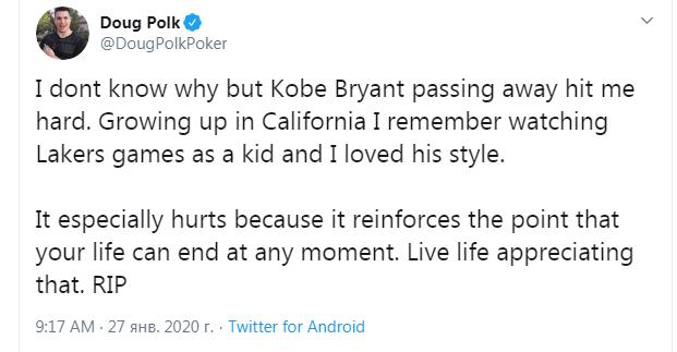 Douglas Polk on Twitter