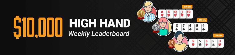 10 000$ High Hand Weekly на Tigergaming