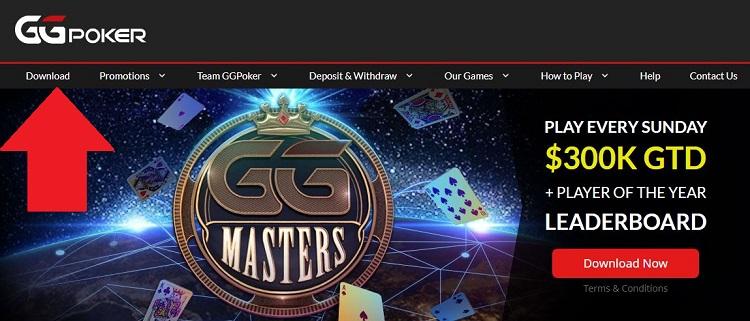 GGPoker website